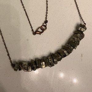 Jewelry - Hook-and-Eye Metal Anthropologie Necklace